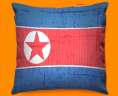 Republic Korea Flag Cushion 45x45cm