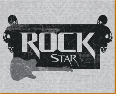 Rock Star Canvas Art Print