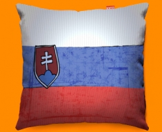 Slovenia Flag Cushion 45x45cm