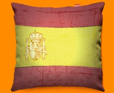 Spain Flag Cushion 45x45cm