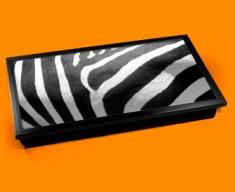 Zebra Animal Skin Laptop Lap Tray